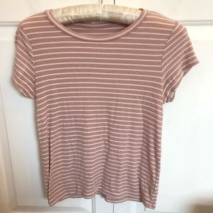 American Eagle ribbed soft & sexy short sleeve tee
